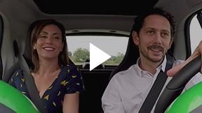Smart Electric: Sesso in auto